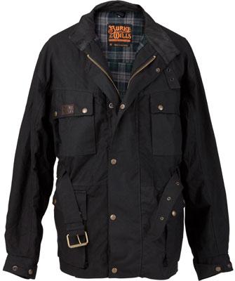 Burke & Wills Settler Oilskin Jacket