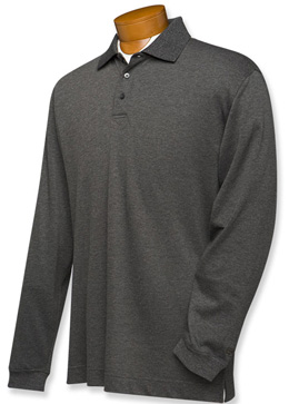 Cutter and Buck DryTec Mens Championship Polo Long Sleeve Shirt