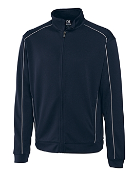 Cutter and Buck Mens's DryTec(TM) Edge Full Zip Jacket
