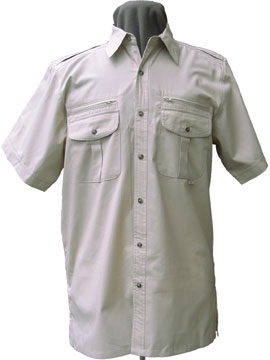 Walkabout USA - Short Sleeve Safari Shirt