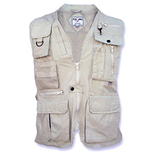 Ultimate Safari and Photographer Vest