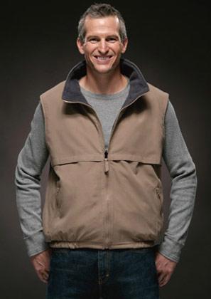 Landway Fleece Lined Nylon Vest