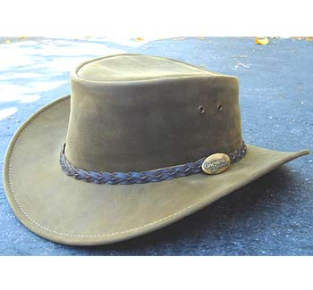 Jacaru Dingo Premium Nubuck Leather hat