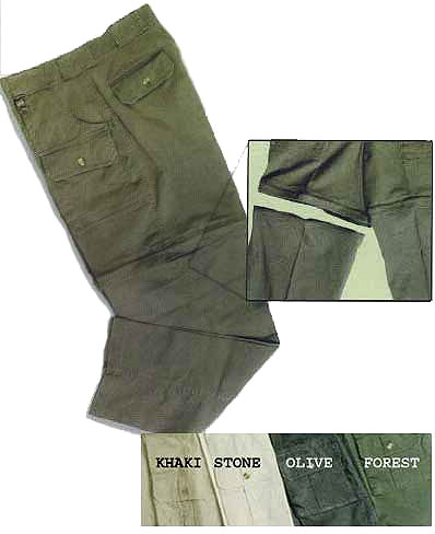 Ladies PRO SAFARI Safari Pants / Shorts