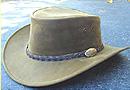 Jacaru Dingo Premium Nubuck Leather hat
