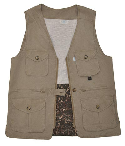 Professional Safari - WOMENS Safari Vest - Ladies Bush Vest Made in Africa